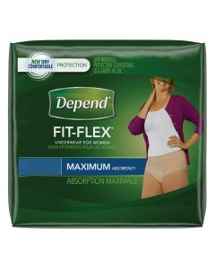 Depend Maximum Underwear for Women, Case