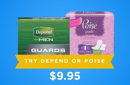 try depend or poise